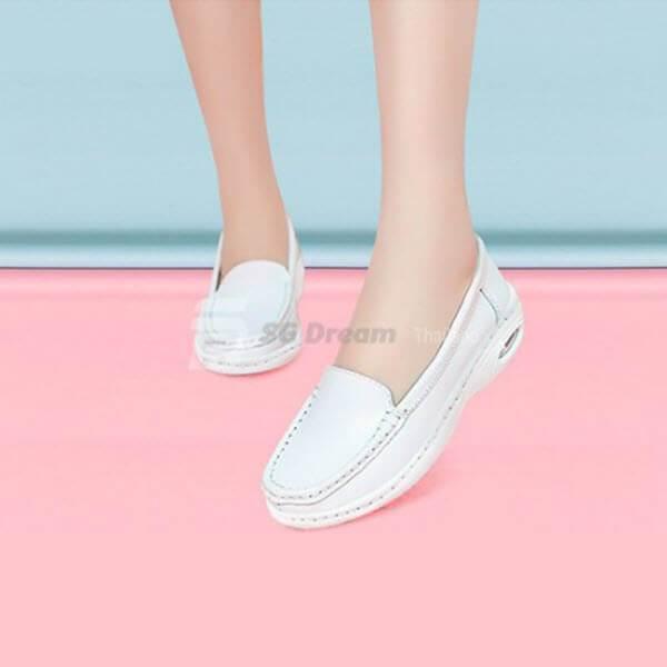 รองเท้าพยาบาลรองเท้าขาวรองเท้าแพทย์ Type F