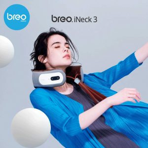 breo เครื่องนวดคอเพื่อสุขภาพแบบพกพา รุ่น iNeck3