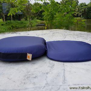 เบาะรองนั่งสมาธิ รุ่น Step-2M สีกรม ผ้ากันน้ำ กันไรฝุ่น