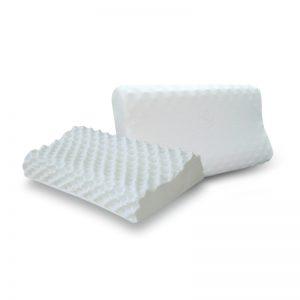 หมอนยางพารา แท้ 100 % Contour Knobby Pillow พร้อม ปลอกหมอน+ซับในตาข่าย Ultimatecare Latex Pillow