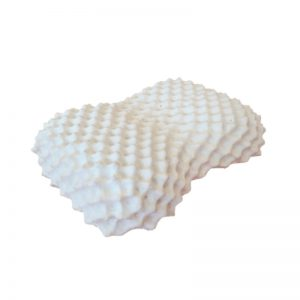 หมอนยางพารา แท้ 100 % Heart Knobby Pillow พร้อมปลอก ซับในตาข่าย Ultimatecate Latex Pillow