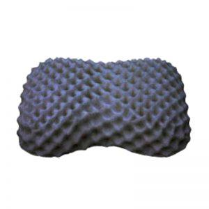 หมอนยางพารา แท้ 100 % ผสมชาโคล Heart Knobby Pillow Charcoal พร้อมปลอก ซับในตาข่าย Ultimatecare Latex Pillow