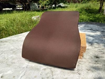 เบาะรองหลัง Kaika รุ่น Soft Full - สีน้ำตาล ผ้ากันน้ำ กันไรฝุ่น