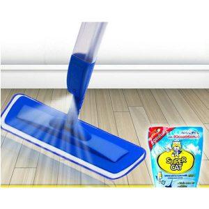 สเปรย์ม็อบ ผ้าไมโครไฟเบอร์ New Spray Mop รุ่นคุ้มค่า