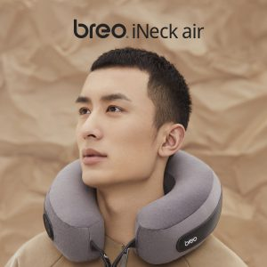 breo เครื่องนวดคอเพื่อสุขภาพแบบพกพา รุ่น iNeck air