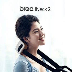 breo เครื่องนวดคอเพื่อสุขภาพแบบพกพา รุ่น iNeck2
