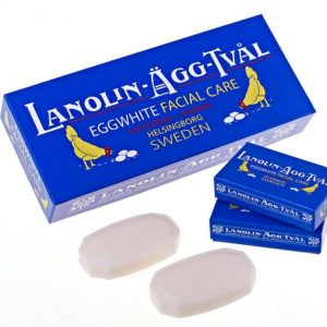 สบู่ไข่ขาวสวีเดน ลาโนลีน
